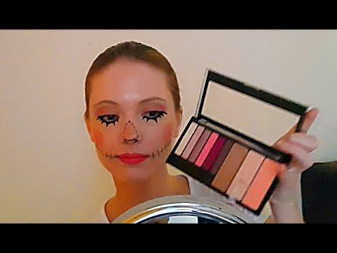 Halloween easy makeup tutorial - Scarecrow - YouTube daa9590a9687