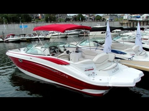 2013 Azure AZ298 Motor Boat - Exterior And Interior - Montreal In-Water Boat Show