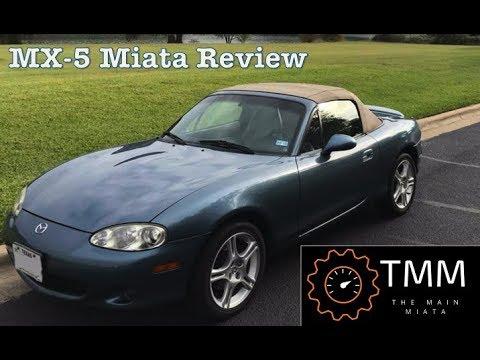 Car Review: 2005 NB Mazda Miata MX-5 LS