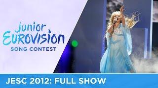 Junior Eurovision Song Contest 2012 - Full Show