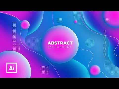 Colorful Gradient Design in Illustrator | Illustrator Tutorial thumbnail