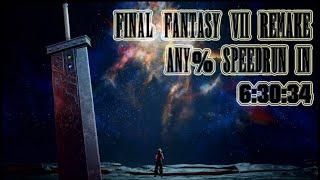 Final Fantasy VII Remake Speedrun in 6:30:34 (Former World Record) - Any% Easy Mode