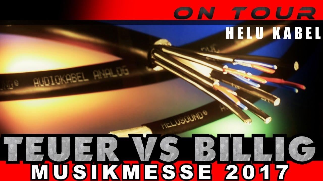 HELUKABEL 🎧 Der Mehrwert hochwertiger Kabel erklärt 🎤 Musikmesse ...