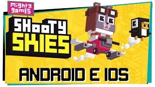 Shooty Skies - Grátis pra Android e IOS - Game Over