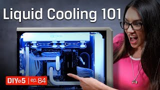 PC Build - Tips for liquid cooling systems for PCs 🌬 DIY in 5 Ep 84