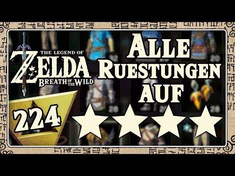 THE LEGEND OF ZELDA BREATH OF THE WILD Part 224: Nicht gezeigte Minispiele & übrige Gewänderupgrades