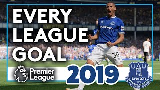 EVERY PL GOAL OF 2019! | ALL 46 EVERTON PREMIER LEAGUE STRIKES OF THE YEAR