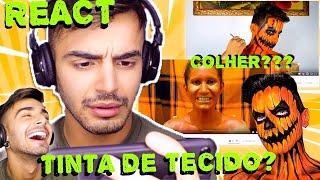 REACT: SEGUIDORES FAZENDO MINHAS MAQUIAGENS| Victor Nogueira