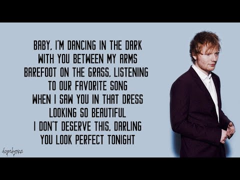 Perfect  Ed Sheeran Lyrics