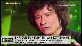"""Enrique Bunbury en """"La Sexta Noche"""" 19-12-2015 - #L6NBunbury"""