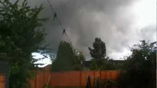 Rotating Thunderstorm (Watford, UK)