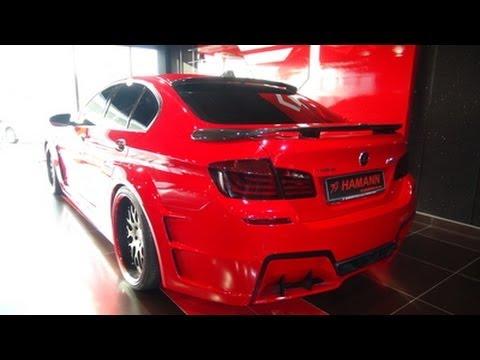 Black F10 M5 >> Hamann BMW M5 F10 Mission in Dubai!! - YouTube