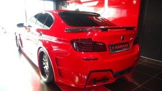 Hamann BMW M5 F10 Mission in Dubai!!