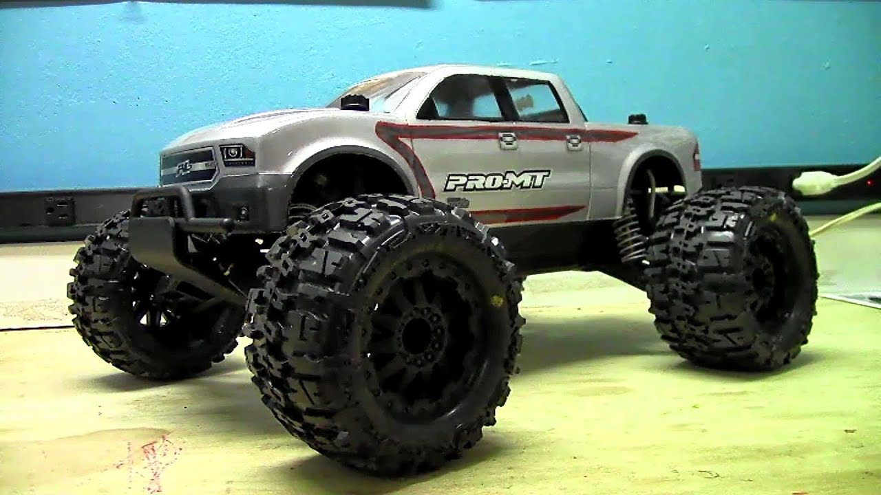 RC Overload - Proline Racing Pro-MT Kit Build - PT 7 - Painted Body &  Electronics Overview