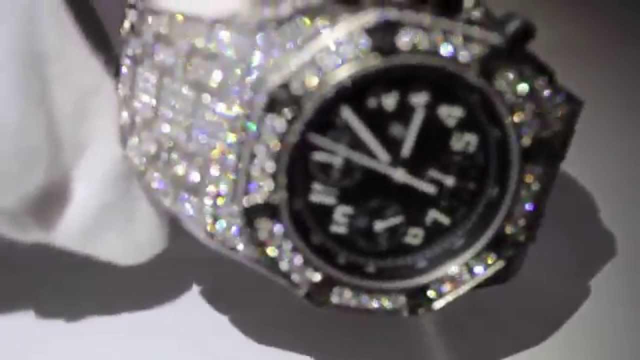 Meek Mill Audemars Piguet Fully Diamond Iced Out Ap Royal