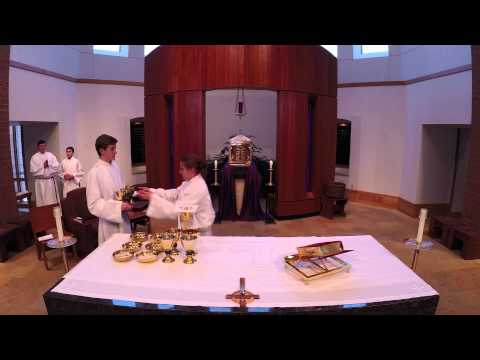 Divine Mercy Server Training  Setting the altar and the Eucharistic Prayer