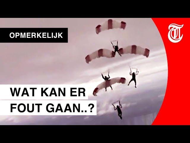 Parachutespringen gaat gruwelijk mis