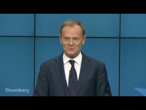 EU's Tusk Says Ready to Act on Brexit Within 48 Hours