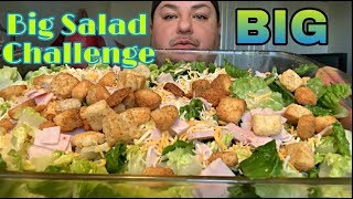 BIG Salad Challenge | Body Positivity