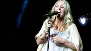 Carrie Underwood - London 21/06/12 - (Cover Coldplay Fix You) HD