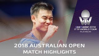 Jun Mizutani vs Liu Dingshuo | 2018 Australian Open Highlights (R32)