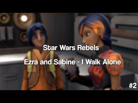 Star Wars Rebels - Ezra vs Sabine (Boulevard of Broken Dreams)