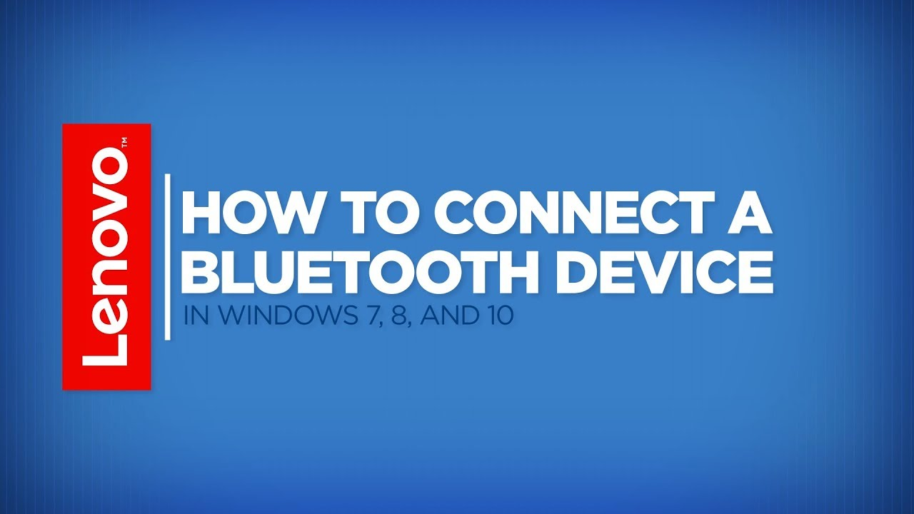 how to connect to an outbuilt bluetooth