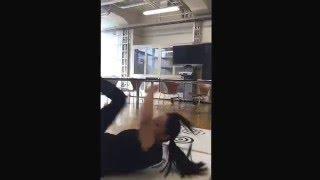 """""""前回り受け身""""の練習 #一ノ瀬文香 一ノ瀬文香 動画 25"""