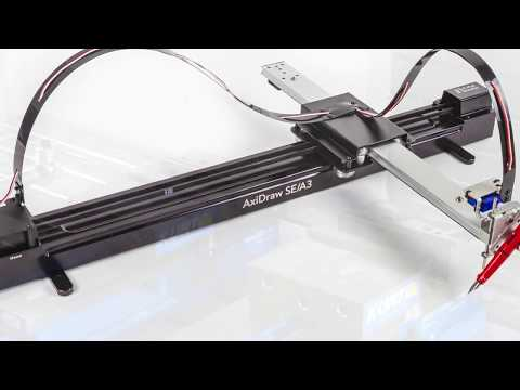 The AxiDraw SE/A3 - How it's made