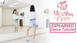 """TWICE """"Alcohol-Free"""" Dance Tutorial 