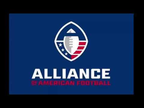 AAF TEAM LOGOS AND UNIFORMS (Alliance of American Football League)