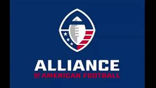 AAF TEAM LOGOS AND UNIFORMS (Alliance of American Football League)