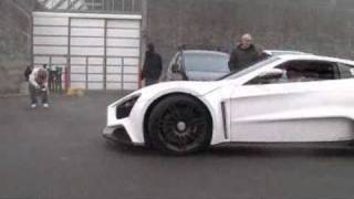 ► Zenvo ST1 Automotive Sport Car back from Dubai