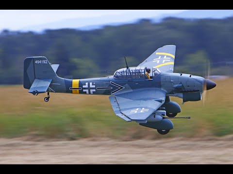 Robert's Phoenix Model Stuka Ju 87 61cc GasEP ARF RC Warbird Giant Scale