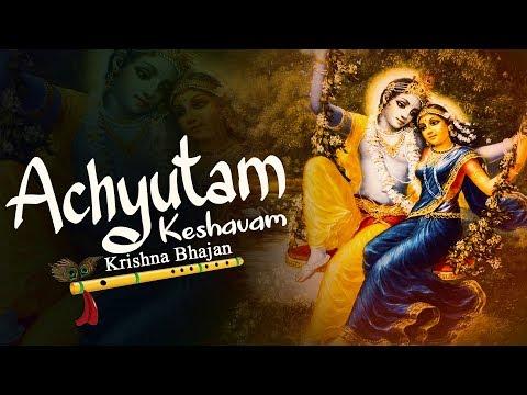 ACHYUTAM KESHAVAM KRISHNA DAMODARAM SONG WITH LYRICS | KRISHNA BHAJAN ( FULL SONG )