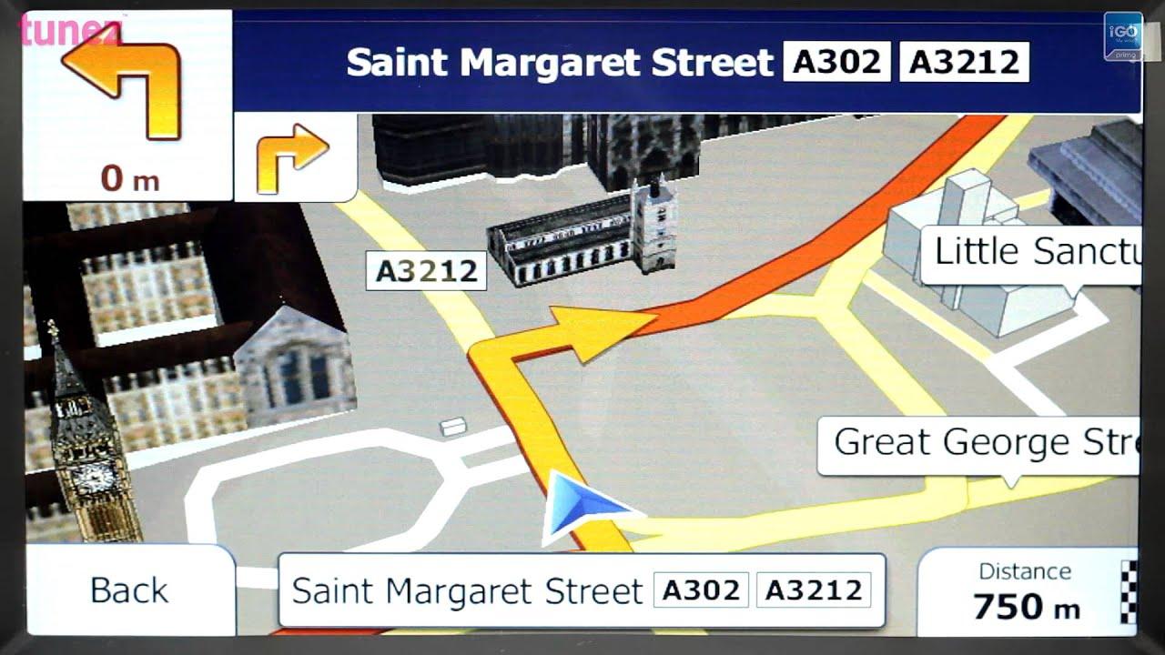 Updated iGO My way 9.6 software and full maps