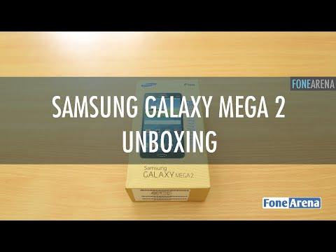 Samsung Galaxy Mega 2 Unboxing