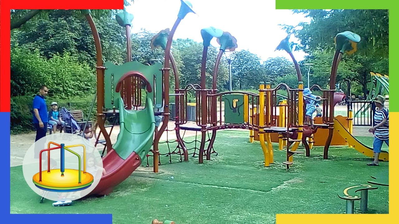 ef8fa9c5c75a8 Découverte des Aires de jeux du Parc de Gerland à Lyon - YouTube