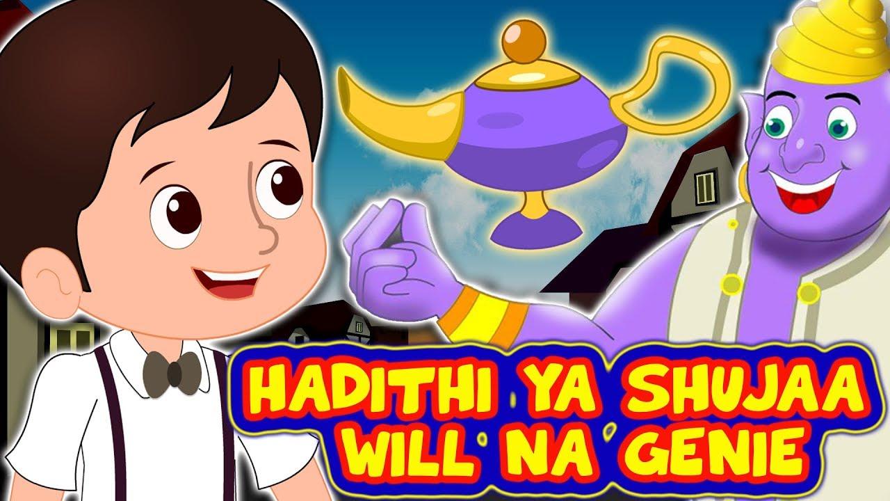 Download Hadithi ya Shujaa Will na Genie | Hadithi Za Kiswahili Mpya 2020 | kiSwahili Fairy Tales