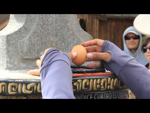 Ecuador - Egg Experiment on the Equator