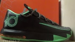 Nike KD 6 Night Vision Brazil Sneaker Detailed Review With Dj Delz