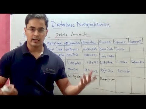 How to do database normalization