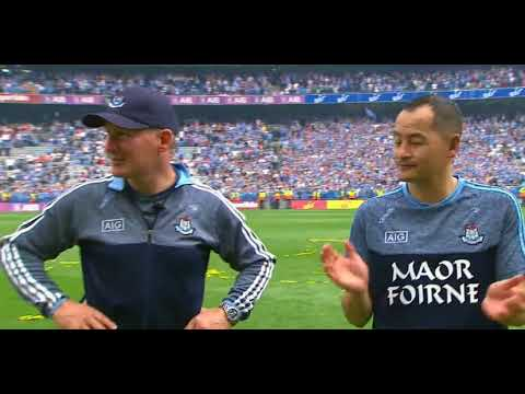 DUBLIN V TYRONE 2018 DUBLIN WIN PRESENTATION & CLASS OF JIM