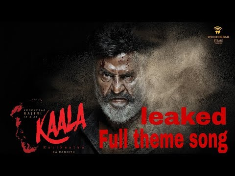 kaala (tamil) teaser theme | Rajini | santhosh narayanan | Mad creation