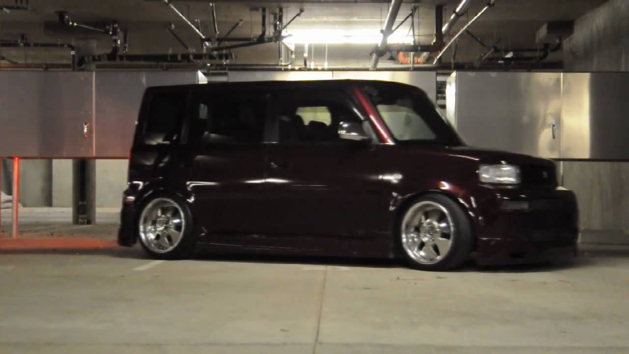 Slammed VIP Scion xB  YouTube
