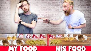 I Ate DOUBLE Of What My Friend Ate For 24 HOURS!