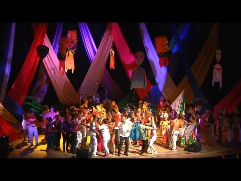 International Carnaval de Victoria, Seychelles 2013 - Opening ceremony - full version, all acts