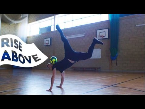 Dealing with Stress ft. Andrew Henderson, Freestyle Football World Champion