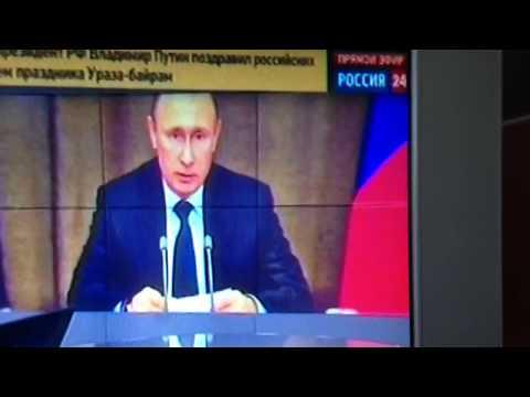 Кадыров, Путин, Медведев поздравил мусульман с Ураза