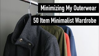 Outerwear Clear Out  |  50 Item Minimalist Wardrobe